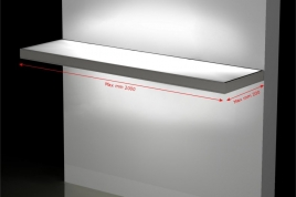 Illuminated External Shelf on Size