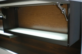 Illuminated Internal Shelf on Size