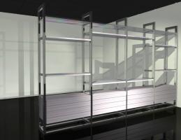 Self-Standing Shelves [Custom-Made]
